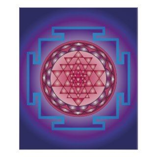 13 SRI YANTRA   SANCTUARY POSTER