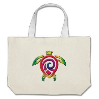 Rainbow Sea Turtle Tattoo Bag