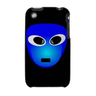 94 Free 3D Extra Terrestrial Smiley Face Clipart I iPhone 3 Case