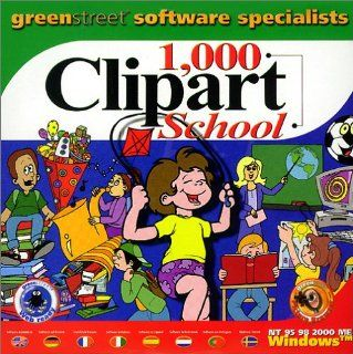 1000 Clipart School: Software
