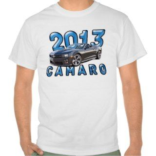 2013 Camaro Design Tee Shirt