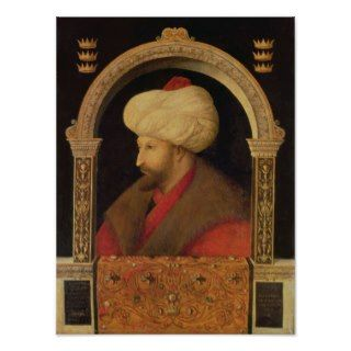 The Sultan Mehmet II 1480 Print