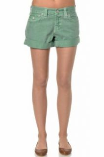 True Religion Jeans Shorts Jayde Boyfriend Fit Short (28, grün
