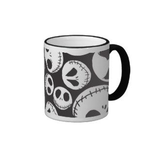 Jack Skellington Pattern 1 Coffee Mugs