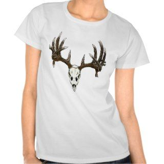 Whitetail deer skull 1 shirt