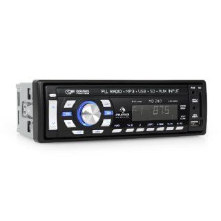 Auna MD 240 digitales Autoradio mit MP3 USB/SD Anschluss (4x 50W