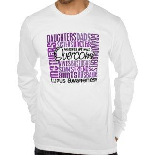 Family Square Lupus T Shirts