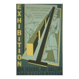 WPA   Art Exhibition Flyer Design