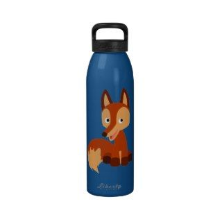 Cute Cunning Cartoon Fox Water Bottle