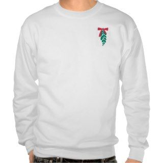 WagsToWishes_Mistletoe Merry Kissmas sweatshirt