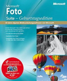 Microsoft Foto Suite Geburtstagsedition: Software