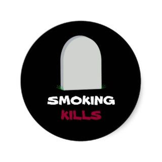 SMOKING, KILLS sticker