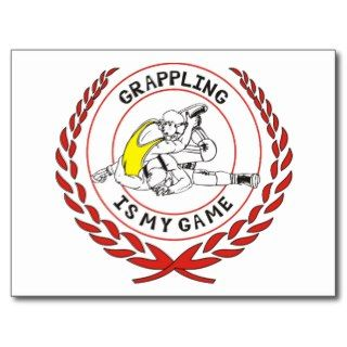Grappling Post Cards