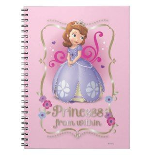 Sofia: Princess Within Spiral Note Book