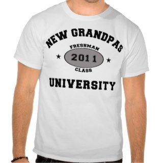 New Grandpa 2011 T Shirt