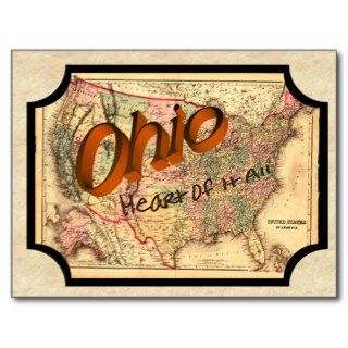 Vintage Ohio Old Postcard
