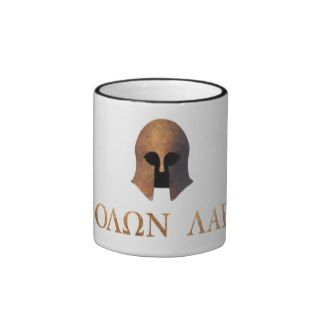 Molon Labe (Come and Get It) Coffee Mugs