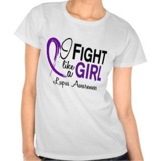 Lupus I Fight Like A Girl 10.1 Shirts