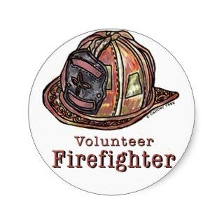 Volunteer Firefighter Sticker