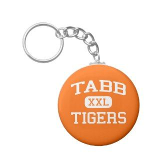 Tabb   Tigers   High School   Yorktown Virginia Key Chain