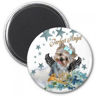 Yorkshire Terrier Perfect Angel Magnet