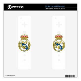 Real Madrid Skin Nintendo Wii Remote Decal