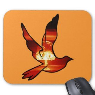 Atomic Dove Mushroom Cloud Mousepad Mouse Pad