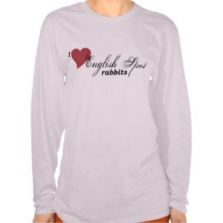English Spot Rabbit Shirt