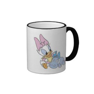 Baby Daisy Duck and Eeyore Mug