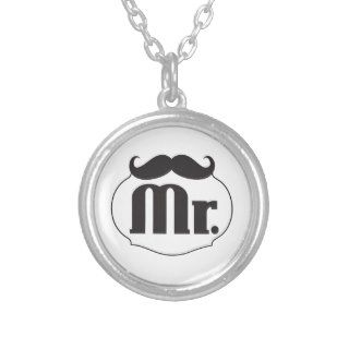 Mr. Mustache Retro Vintage Hipster Gifts Pendants