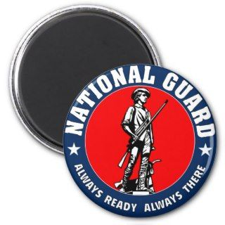 Army National Guard Logo Refrigerator Magnets