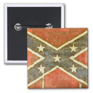 Dirty Rotten Redneck! Rebel Confederate Flag Pinback Buttons