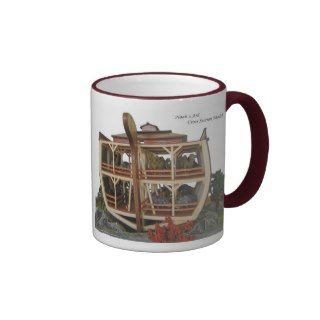 Noahs Ark Cross Section Diorama Coffee Mug