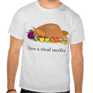 Anya Holiday Quote: Ritual Sacrifice Tee Shirt