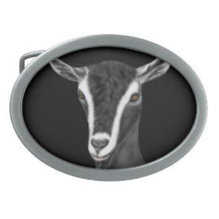 Alpine Dairy Goat Belt Buckle