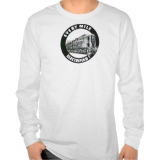 Pennsylvania Railroad Locomotive GG 1 #4800 Shirt