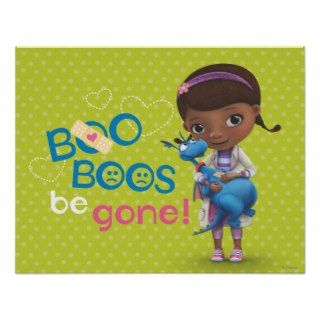 Doc McStuffins and Stuffy   Boo Boos Be Gone Poster