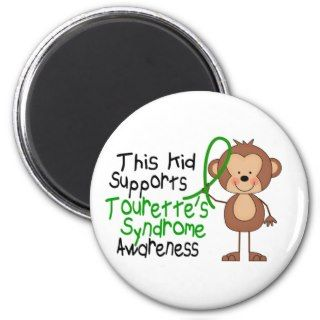 This Kid Supports Tourettes Syndrome Awareness Magnet