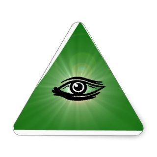 All Seeing Eye Triangle Sticker