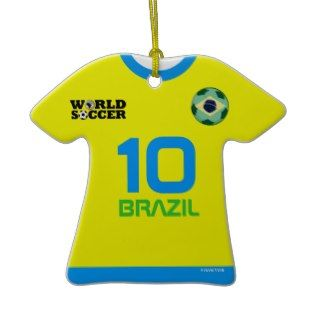 World Cup Brazil #10 Kaka T Shirt Both Sides