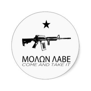Molon Labe   Come And Take It Stickers