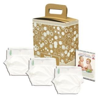 Bumkins Cloth Diaper Covers   3 Pack White   Cloth Diapers at