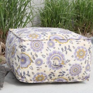 Outdoor Pouf Ottoman Cushion   Outdoor Cushions and Covers at