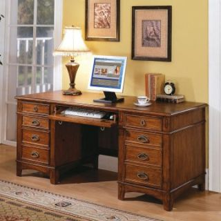 Mission Hills Credenza Desk by Kathy Ireland   Computer Desks at