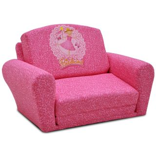 Kidz World Pinkalicious Sleepover Sofa   Kids Specialty Chairs at