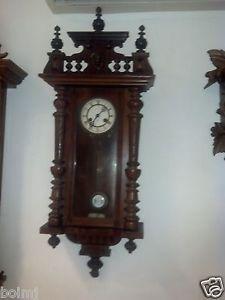 Beautiful Junghans Antique German Wall Clock C 1880 R A Pendulum