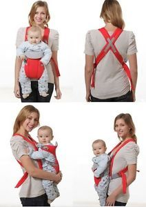 Baby Carrier Sling Wrap Rider Infant Comfort Backpack