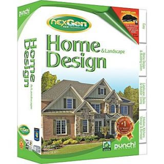 ... Punch Home U0026 Landscape Design With NexGen Technology V3 2011 [Boxed] ...