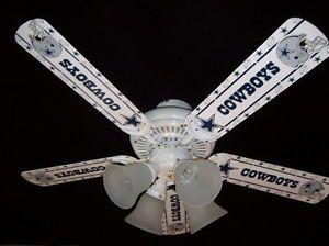 """Dallas Cowboys 44"""" Tri Mount Ceiling Fan"""