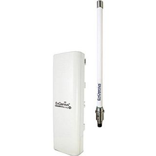 EnGenius N ENH200EXT KIT Outdoor Wireless N Access Point Kit With Antenna, Up to 150 Mbps